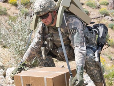HULC exoskeleton (image credit: Lockheed Martin photo)