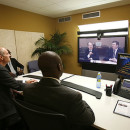 Cisco TelePresence meeting room installed in Lagos