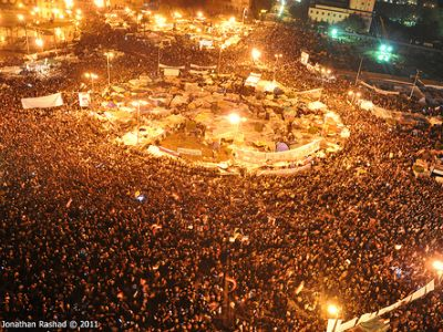 "Western media continue to call Egypt's January 25 revolution an ""Internet"
