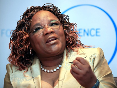 Rhodes University's Professor Tebello Nyokong, winner of the Africa-Arab State 2009 L'Oréal-Unesco Award for Women in Science