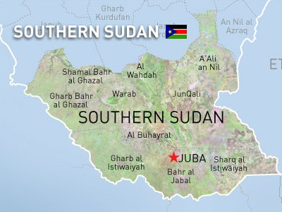 Google Amends Sudanese Map IT News Africa Africas Technology - Map of sudan