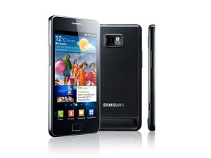 Samsung&#039;s Galaxy S II smartphone (image: Samsung)