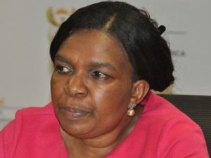 Communications Minister Dina Pule (image: techcentral)