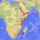 Two East African undersea internet cables cut