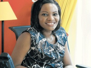 The former country manager of Google Kenya, Olga Arara-Kimani (image: Daily Nation)