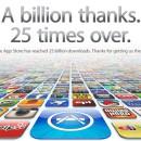 Apple's App Store reaches 25-billion downloads