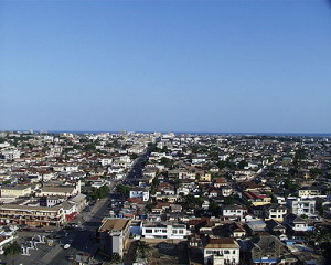 Accra, Ghana Skyline (image source: Wikipedia)