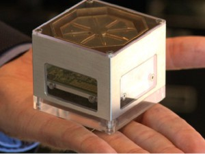 Alcatel-Lucent&#039;s palm-sized LightRadio (image: CNN Money)