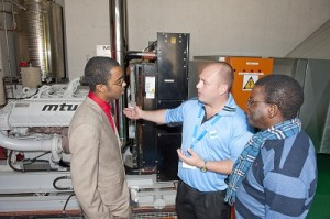 Media and guests were given the opportunity to tour the Yzerfontein Cable System Station recently. (Image: Telkom)