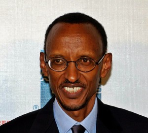 President Paul Kagame of Rwanda is an active Twitter user