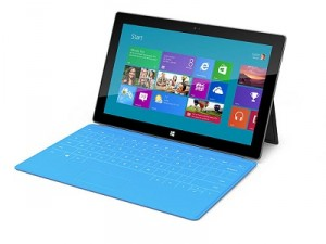 Microsoft&#039;s Surface with it&#039;s Type Cover (image: Microsoft)