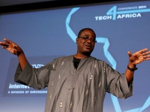 "Herman Chinery-Hesse, co-founder of SOFTtribe, has been described as ""the Bill Gates of Africa"" (image: Tech4Africa)"
