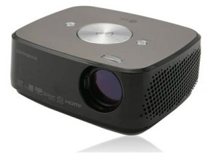 The HX300G LED projector from LG (image: LG)