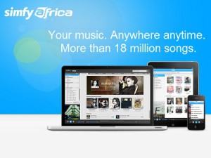 South African music lovers will be able to listen to all their favourite artists from South Africa (image: Simfy Africa)