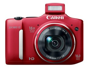 Canon's new PowerShot SX160 IS (image: Canon)