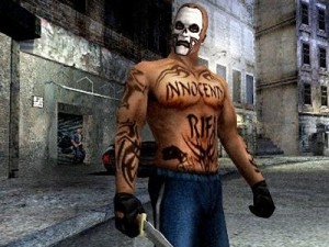 A screenshot from Manhunt 2, one of the most controversial video games ever (image: Rockstar)