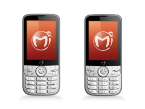 Mi-Fone have launched the Mi3000 model - Africas first smart feature phone with a 60 day battery standby time (image: Mi-Fone)