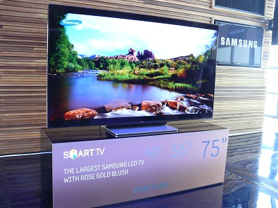 samsung tv 75. the new 75-inch television from samsung tv 75 0