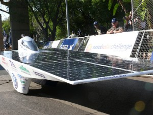 Competition is expected to heat up at this year's Sasol Solar Challenge. (Image: Charlie Fripp)