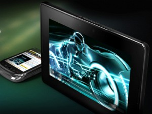 Research In Motion&#039;s BlackBerry PlayBook tablet (image: RIM)