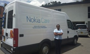 Nokia in Kenya has launched 'Care on Wheels' , a mobile service designed to engage rural areas. (Image: Google/capitalfm.co.ke)