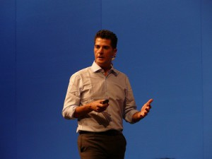 Anthony Salcito, Vice President for Worldwide education (image: Charlie Fripp)