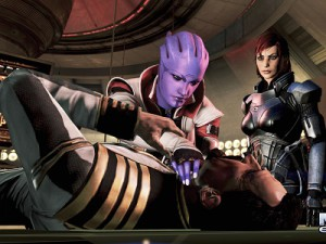A screenshot of Mass Effect 3: Omega (image: EA)