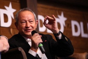 Naguib Sawiris, founder of Orascom Telecom Holding SAE. (Image: Flickr/Hurbert Burda Media)
