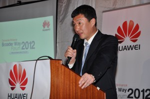 Li Dafeng, Regional President for Huawei East and South Africa. (Image: Huawei)