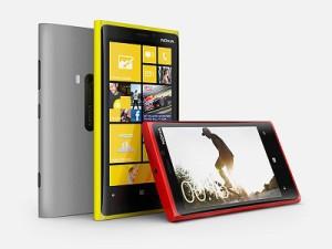 Nokia's Lumia 920 (image: Nokia)