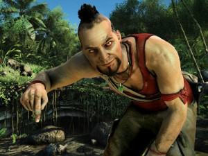 Vaas wants to show you where he is going to bury your body (image: Ubisoft)