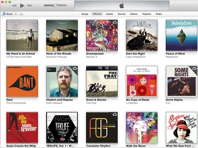 A screenshot of the iTunes Store (image: Apple)