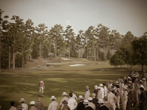 Experience Augusta National Golf Club as it was when the course played host to the very first Masters Tournament (image: EA)