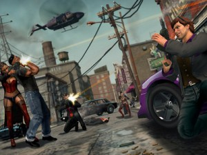 A screenshot from Saints Row The Third (image: THQ)