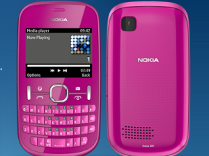The Nokia Asha 205 (image: Nokia)