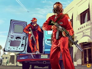 An image from Rockstar's Grand Theft Auto V (image: Rockstar)