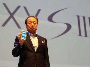 Samsung President JK Shin (image: Engadget)