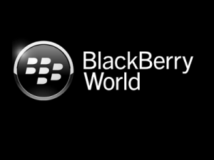 Research in Motion rebranded their BlackBerry App World to BlackBerry World (image: RIM)