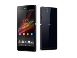 Sony is highlighting its new Xperia Z and Xperia ZL smartphone models (image: Sony)