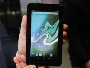 HP's 7-inch tablet, the Slate7 (image: CBS Interactive)