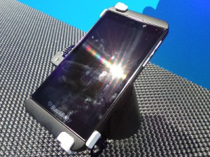 BlackBerry's new  Z10 smartphone (image: Charlie Fripp)