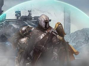 Concept art from Bungie's Destiny title (image: Bungie)