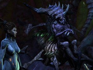 A screesnhot of StarCraft II: Heart of the Swarm (image: Blizzard)