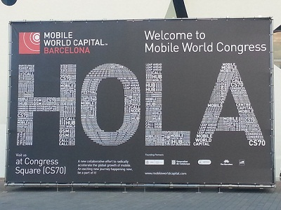 Mobile World Congress recently concluded in Barcelona, Spain, where the world's biggest players in the mobile space come together (image: Charlie Fripp)