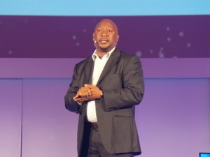 Robert Ngeru, Samsung's Commercial Director for East Africa (image: Charlie Fripp)