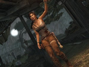 A screenshot of Lara Croft in the new Tomb Raider (image: Square Enix)