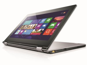 Lenovo's latest Ultrabook, the IdeaPad Yoga 13 (image: Lenovo)