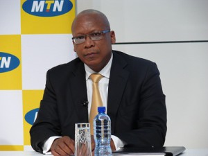 MTN Group President and CEO Sifiso Dabengwa (image: Charlie Fripp)