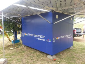 Having launched the Samsung Solar Powered Internet Schools (SPIS) in October 2011, the impact and results that such innovation has had on community development has started to surface (image: Samsung)