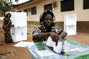 Kenya's electoral authorities have urged citizens and political leaders to remain calm as the counting and processing of votes is underway. (Image source: eruditiononline.co.uk)